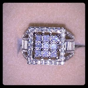 Jewelry - ** SOLD **  .925 SS Ring Bella Luce CZ